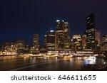 sydney cbd  central business... | Shutterstock . vector #646611655