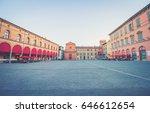Imola city (Bologna, Emilia-Romagna, Italy) - Main square of the city Matteotti square