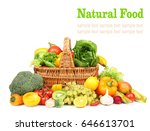 Natural Food Concept. Fresh...