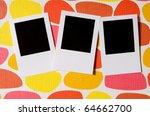 designer concept   blank photo...   Shutterstock . vector #64662700