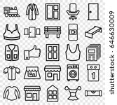 Front Icons Set. Set Of 25...