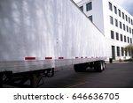 a modern full sized long dry...   Shutterstock . vector #646636705