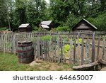 Old Farmstead With Garden Fenc...