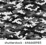 seamless pattern of vector... | Shutterstock .eps vector #646668985