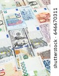 banknote for background  | Shutterstock . vector #646670311