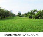 park | Shutterstock . vector #646670971
