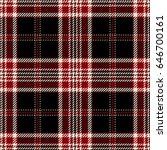 tartan seamless pattern... | Shutterstock .eps vector #646700161