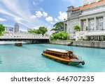 beautiful view of traditional... | Shutterstock . vector #646707235