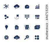 different icons for app  sites  ...
