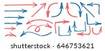 arrow grange brush vector set   Shutterstock .eps vector #646753621