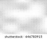 abstract halftone dotted... | Shutterstock .eps vector #646783915