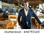 african american entrepreneur... | Shutterstock . vector #646792165