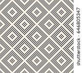 vector seamless pattern. modern ... | Shutterstock .eps vector #646805347