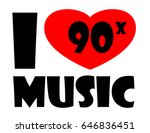 l love music | Shutterstock .eps vector #646836451