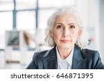 close up portrait of beautiful... | Shutterstock . vector #646871395