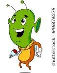 alien | Shutterstock .eps vector #646876279