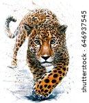 jaguar | Shutterstock . vector #646937545