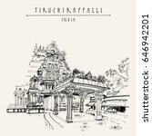 tiruchirappalli  trichy   tamil ... | Shutterstock . vector #646942201