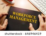 book with name workforce... | Shutterstock . vector #646946419
