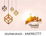 creative background design for... | Shutterstock .eps vector #646981777