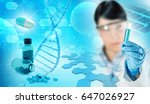 pharmaceutical and chemical lab ... | Shutterstock . vector #647026927