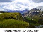 beautiful scenic green summer... | Shutterstock . vector #647052589