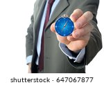 business direction concept with ... | Shutterstock . vector #647067877