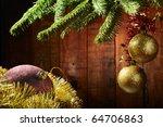 Merry Christmas and Happy New Yea - stock photo