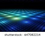 abstract colorful dance floor...   Shutterstock . vector #647082214
