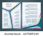 collection of vector... | Shutterstock .eps vector #647089144