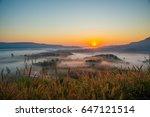 Soft Blurred Photo Sun Rises In ...