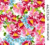 abstract elegance seamless... | Shutterstock . vector #647121799