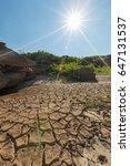 dryness | Shutterstock . vector #647131537