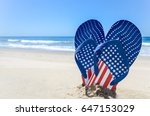 Patriotic Usa Background With...