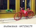 Bike Rental Service. Red...