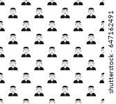 asian man pattern seamless in... | Shutterstock . vector #647162491