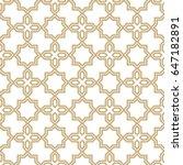abstract pattern in arabian... | Shutterstock .eps vector #647182891