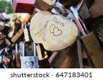 Heart Shaped Padlock With...
