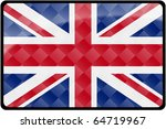 Stylish British Flag...