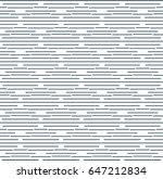 vector grey line pattern.... | Shutterstock .eps vector #647212834