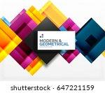 corporate vector business... | Shutterstock .eps vector #647221159