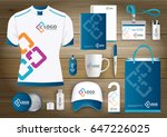 network gift items logo  color... | Shutterstock .eps vector #647226025