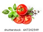 fresh tomato  herbs and spices...