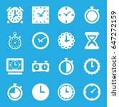 second icons set. set of 16... | Shutterstock .eps vector #647272159