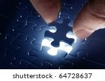 Missing Jigsaw Puzzle Piece...