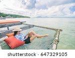 young beautiful woman in...   Shutterstock . vector #647329105