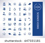 science icon set clean vector | Shutterstock .eps vector #647331181