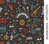 vector music background....   Shutterstock .eps vector #647332591