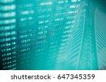 digital data indicator analysis ... | Shutterstock . vector #647345359