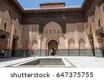 marrakesh  morocco   may 3 ... | Shutterstock . vector #647375755